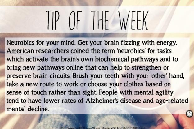 Tip of the Week!