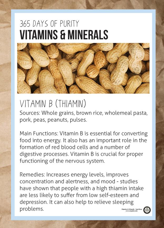 Vitamin B - Thiamin